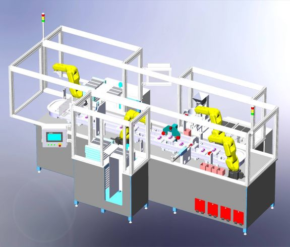 a fully automated assembly and inspection system for a surgical instrument.